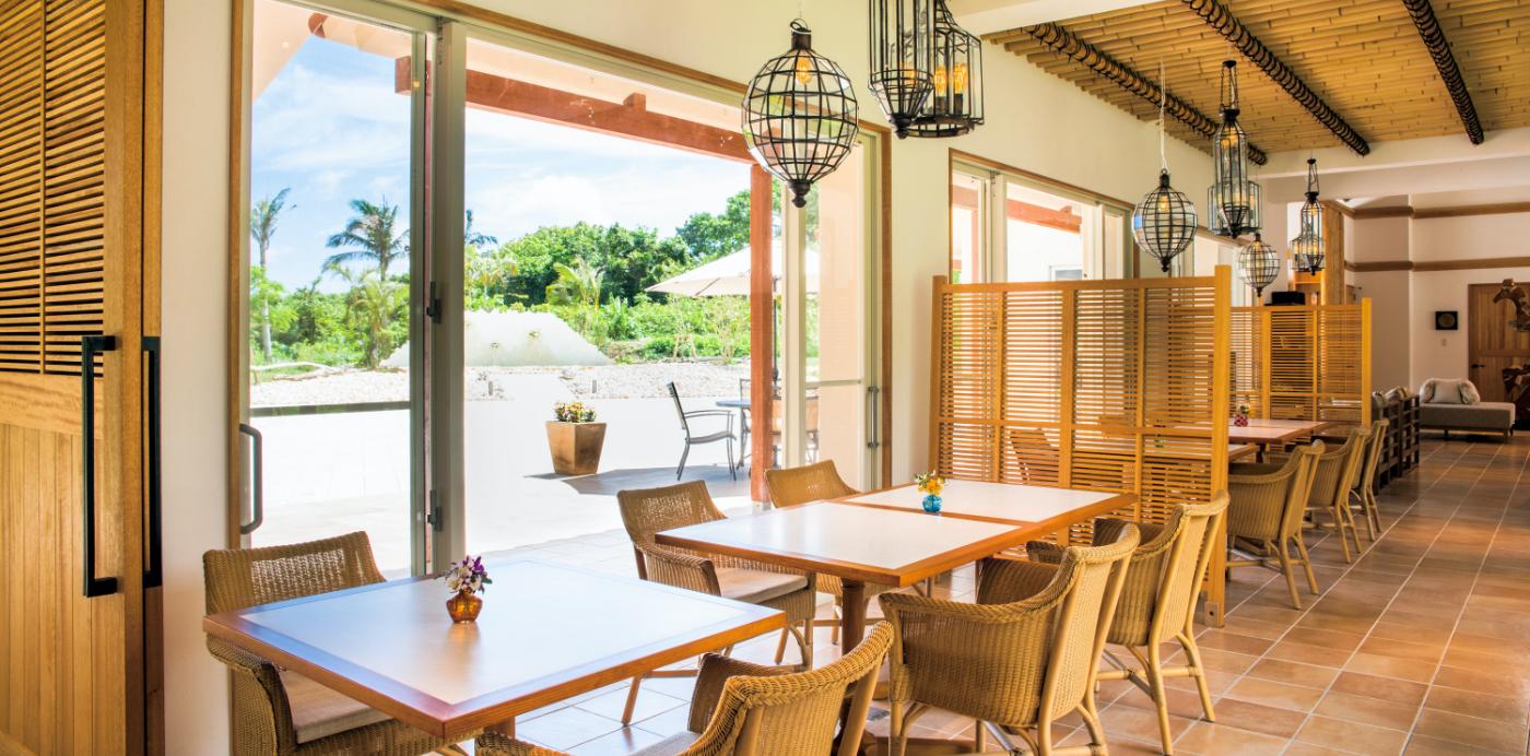 コーラルテラス石垣島 レストラン プルメリア